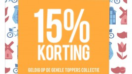 15% TOPPERS KORTING